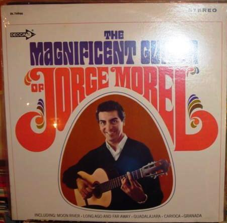 Jorge Morel - The Magnificent Guitar - Decca - sealed USA 1960s